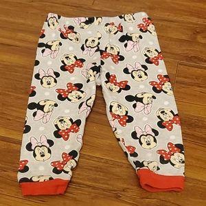 Disney - Minnie Mouse PJ's bottoms 18m